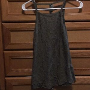 NWT green lacy tank top